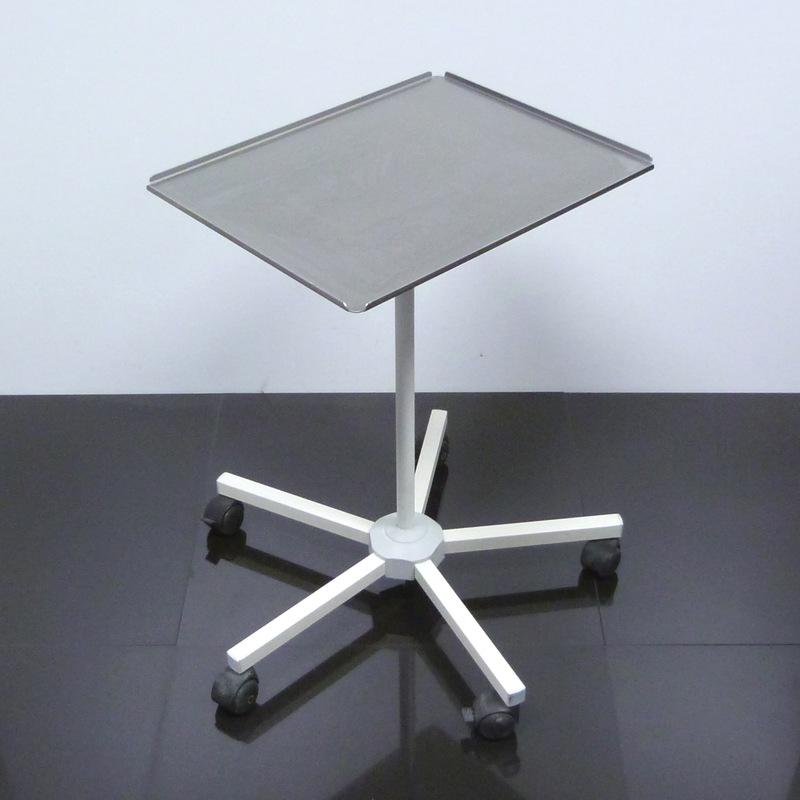 beistelltisch h henverstellbar tisch op ebay. Black Bedroom Furniture Sets. Home Design Ideas